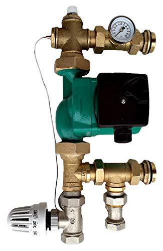 Festwertregelset für Fußbodenheizung mit Pumpe OMI Pumpengruppe / TOP PREIS