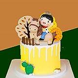 JeVenis 11 PCS Cowboy Cake Decoration Cowboy Birthday Party Supplies Little Cowboy Cake Topper Western Theme birthday Decoration Cowboy First Birthday Decoration