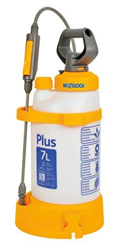 Hozelock 4707 0000 Pressure Sprayer Plus 7 Litre (max fill* 5L), Yellow