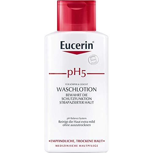 Eucerin pH5 Waschlotion für Körper und Gesicht, 200 ml Gel