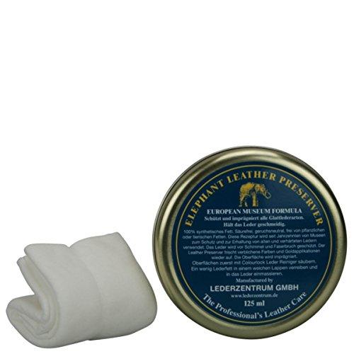 Preisvergleich Produktbild COLOURLOCK Elephant Lederfett 125 ml inkl. Tuch