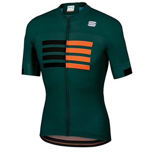 Sportful Wire Jersey - sea Moss/Black/orange sdr