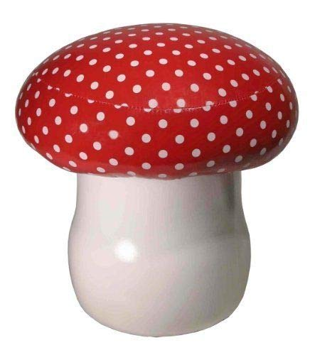 Streamline Cushioned Toadstool Chair