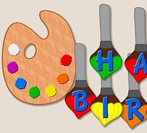Art Painting Special price Birthday Banner BIRTHDAY