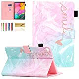 Cover for Samsung Galaxy Tab A 10.1 2019 Case SM-T510, Dteck Slim Fit Multi-Angle Folio Leather Stand Smart Shell...