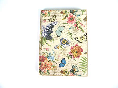 Agenda 2020 Planificador Anual Floral Regalo de Navidad para Ella A5 Vista por Dìa Tapa Dura Summer Flowers Diario