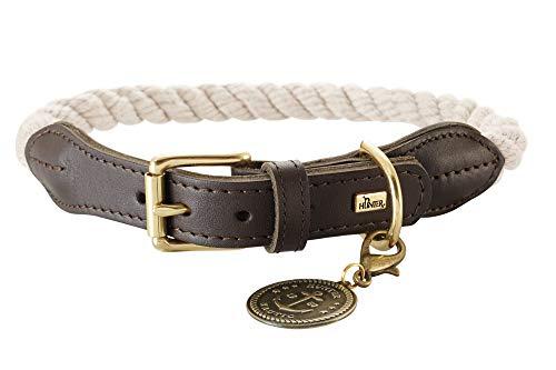 HUNTER Lista de Collar de Cuerda, Talla 70, XL, Color Crema