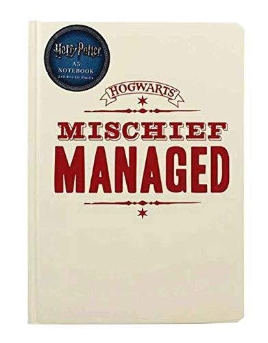 Half Moon Bay Half Moon Bay Terminal Harry Potter - Mischief Managed (Quaderno A5) Merchandising Ufficiale