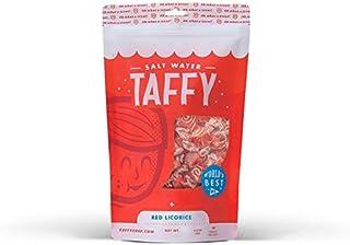 Taffy Shop Red Licorice Salt Water Taffy - 1/2 LB Bag