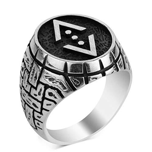 Çukur Dizisi Figürlü Erkekler Için Özel Üretim Yüzük ık Tarz Aksesuar Rahat Combi Special Edition Figured Ring for Men Stylish Style Accessories Comfortable Combine Cukur Licensed Original Ring