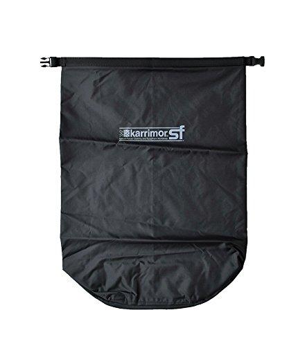 (カリマースペシャルフォース)karrimor SF 耐水加工ナイロンドライバッグ40L 40L ブラック drybag-40-40l-black