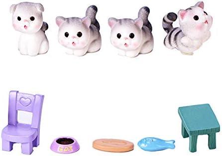 Neko 9pcs Tucson Mall Miniature Garden Cats Kitten Micro with - Accessories online shopping