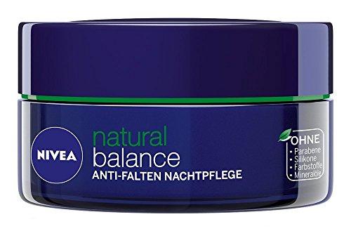 Nivea Visage Pure & Natural Anti-Wrinkle Night Care Skin Cream 1.7oz. (50ml)