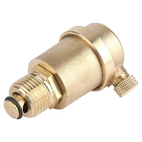 FOTN Neue Messing automatische Entlüftungsventil DN15 G1 / 2 Entlüftungsventil für Solarwarmwasserbereiter Druckentlastung