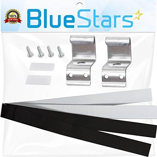 8541503 Compact Washer & Dryer Stacking Kit Replacement Part by Blue Stars – Exact Fit For Whirlpool & Kenmore Dryers/Washers - Replaces 8212640 AP3183011 PS888067