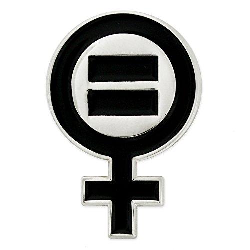 PinMart Venus Symbol Women's Equal Rights Feminism Lapel Pin