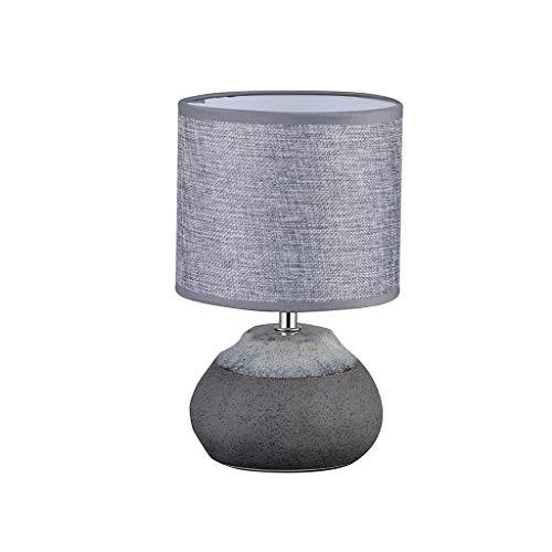 TDJJZHXYP Personalidad Moderna Creativa Estilo nórdico Dormitorio romántico lámpara de Noche Piedra Minimalista lámpara de Mesa