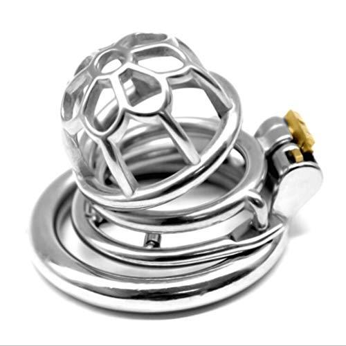 ZZDD FlExyhuy Runde Stàinlēl Glatte gratfreie komfortable Belüftung Design Wasserdicht Hühnerkäfig Lock Sonnenbrille (Größe : S)