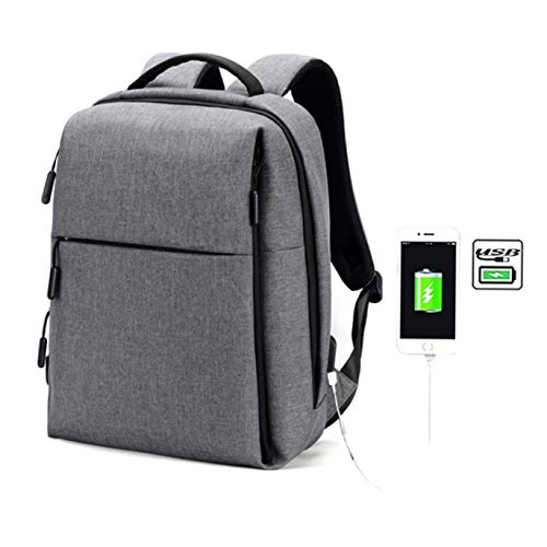 Stella nieuwste mannen vrouwen 15 inch laptop rugzak slank voor reizen, duurzaam, waterafstotende stof, schoon ontwerp, zakelijke casual of college tas