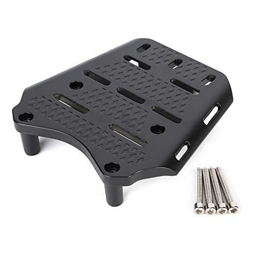 Motorcycle Rear Luggage Rack,CNC Aluminum Alloy Motorcycle Rear Luggage Rack Holder Shelf Replacement for Honda PCX 125 150 2014-2019