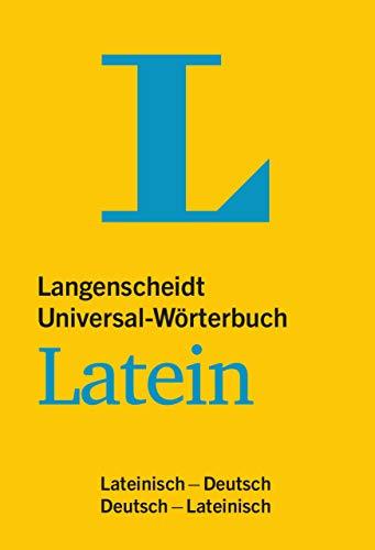 Langenscheidt Universal-Wörterbuch Latein: Lateinisch-Deutsch / Deutsch-Lateinisch