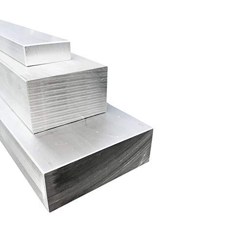 AlMgSi1 Barre plate en aluminium 60 x 40 mm, 100mm