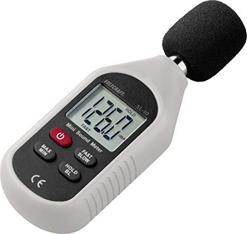 VOLTCRAFT Schallpegel-Messgerät SL-10 30-130 dB 31.5 Hz - 8 kHz