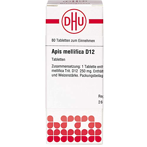 DHU Apis mellifica D12 Tabletten, 80 St. Tabletten