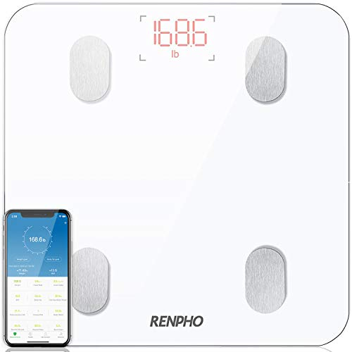 RENPHO Balance Connectée Balance Pèse Personne, Pèse Personn