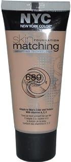 NYC Skin Foundation Matching Adapting Technology, 689 Medium to Deep, 1 Fl Oz