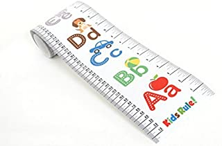 Kids Rule Alphabet Plastic Roll-Up Growth Height Chart....