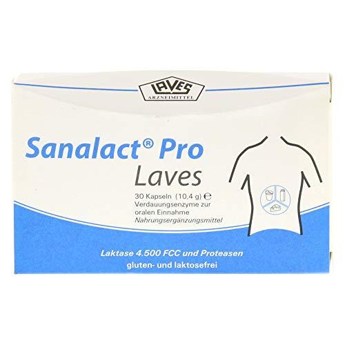 Sanalact Pro Laves Kapseln, 30 St. Kapseln