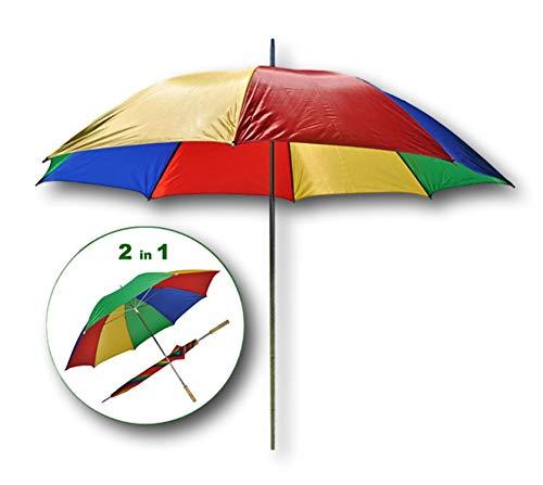 Best-Accessoires4All Universal Schirm Sonnenschirm Regenschirm Sonnenschutz Balkon-Schirm flexibel Ø 130cm