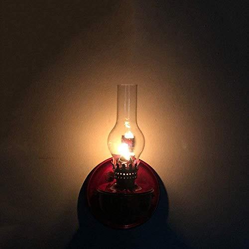 Antike Öllampe Alte Kerosinlampe, Wand, Alte Öllampe, Kerosin Stil Tisch Petroleumlampe