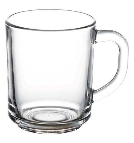 Pasabahce 55029 – Teeglas mit Henkel Pub, für Tee, Latte Macchiato, Irish Coffee, Punsch, Glühwein, Heiße Schokolade, 6er Set