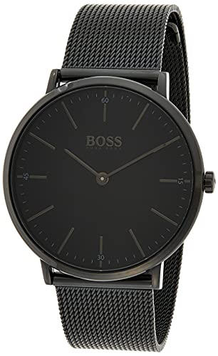Hugo Boss Herren Quarz Armbanduhr mit Edelstahlarmband 1513542