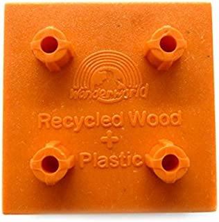 wonderworld 組立木製玩具 Trix Trackブロック10個セット TYWW0021