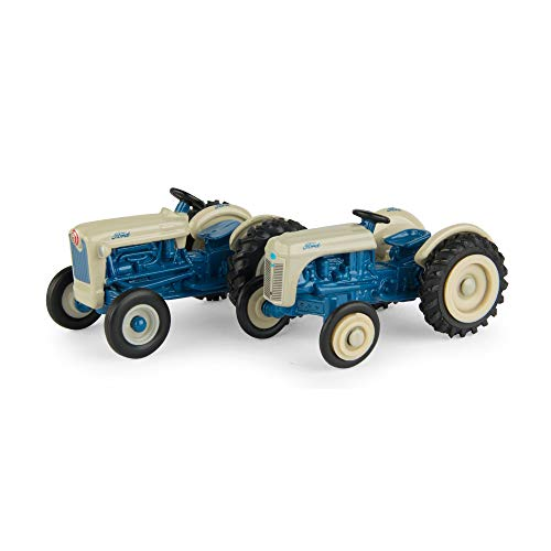 ERTL Ford 1: 64 Scale 8N & Jubilee Tractor - 2Piece Set, Blue