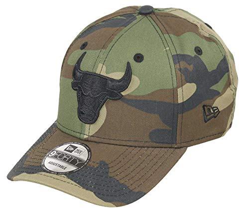 New Era Chicago Bulls 9forty Adjustable Snapback Cap NBA Camouflage Camouflage - One-Size