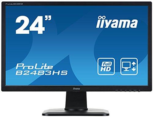 """iiyama B2483HS-B1 Ecran PC LCD 24"""" (60,96 cm) 1920 x 1080 1 ms Noir"""