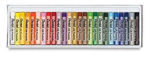 Pentel Arts Oil Pastels 25Color Set