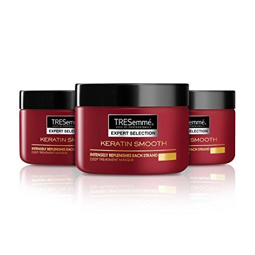 TRESemmé - Liso Keratina - Mascarilla para cabello rebelde - 3 unidades de 300 ml