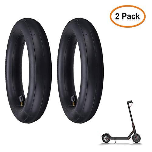 LemonBest Elektroroller Reifen, 8,5 Zoll Schlauch aufgepumpt Reserverad ersetzen Schlauch für Xiaomi Elektroroller (Pack of 2X)