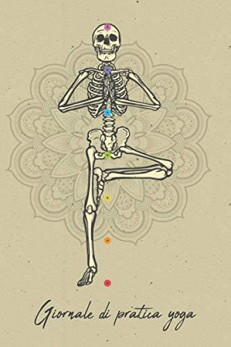 Giornale di pratica yoga: Mandala yoga. Tieni traccia della tua pratica yoga quotidiana. Quaderno yoga compilare, agenda yoga per la pratica. Agenda di yoga