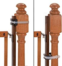 """Summer Banister to Banister Universal Gate Mounting Kit – Fits Round or Square Banisters, Accommodates Most Hardware & Pressure Mount Baby Gates up to 37"""" Tall, Gate Sold Separately"""