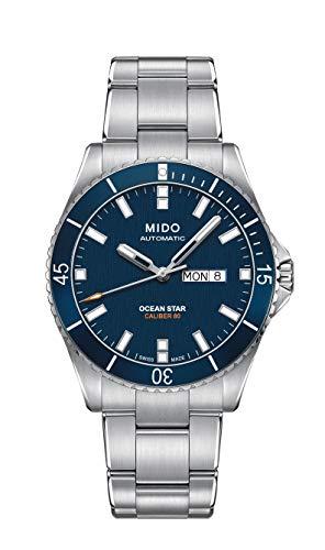 Mido Reloj Analógico para Hombre de Automático con Correa en Acero Inoxidable M0264301104100
