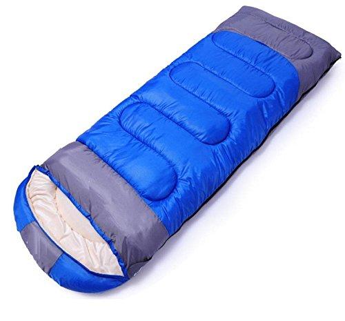 LD-Comfort lichtgewicht draagbare gemakkelijk te comprimeren envelop slaapzakken met compressiezak, 2