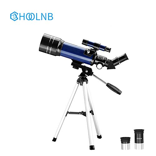 Best Prices! HOOLNB Space Astronomical Telescope with Tripod Finderscope for Beginner Explore Space ...