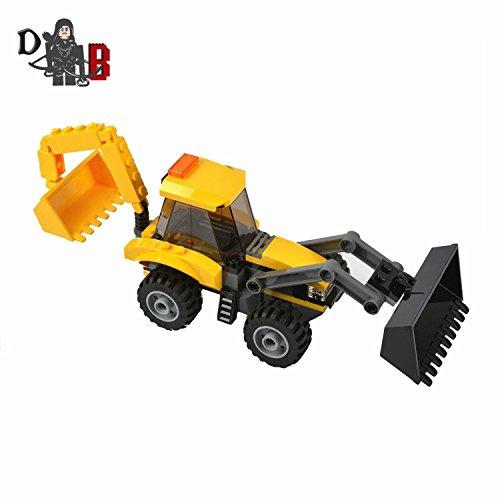 LEGO Custom City Baggerlader JCB Bagger