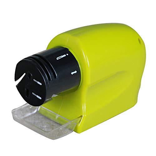 Hylotele Afilador de Amoladora eléctrica de Cocina Herramienta de Afilado para Herramientas Rectas dentadas para el hogar Tijeras Herramientas de precisión Herramienta para afilar Cuchillos